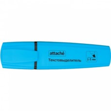 Текстмаркер  Attache Palette голубой (толщина линии 1-5 мм)