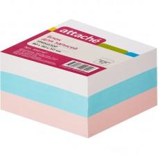 Блок бумаги Attache запасной (9 х 9 х 5, триколор)
