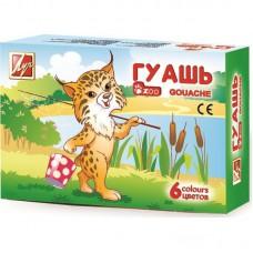 Гуашь  6 цветов Zoo 15 мл. в Екатеринбурге
