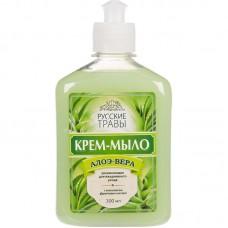 Жидкое крем-мыло Русские травы алоэ вера 300 мл.