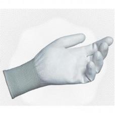 Перчатки нейлоновые с полиуретановым покрытием,ассорти