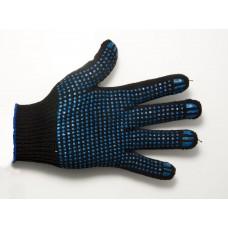 Перчатки  х/б 5 нит. пл.65-67 черные