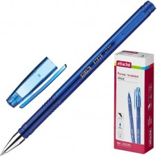 Ручка гелевая Attache Space синяя, 0,5 мм