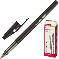 Ручка шариковая Attache Basic черная, 0,5 мм