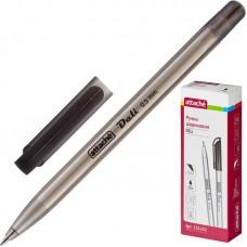 Ручка шариковая Attache Deli чёрная