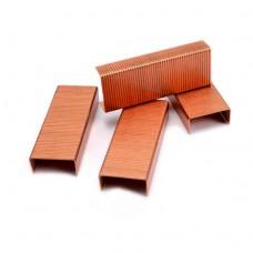 Скобы для степлера №10 BRAUBERG медное покрытие