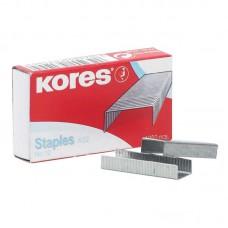 Скобы для степлера №10 KORES никелированные