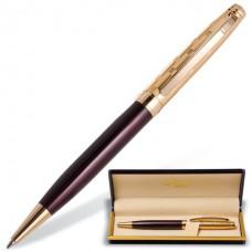 """Ручка шариковая подарочная GALANT """"Bremen"""" корпус бордовый с золотистым (0,7мм.синяя)"""