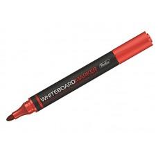 Маркер для досок красный , 2мм.ассорти