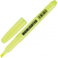Текстмаркер CC2118S желтый (толщина линии 1-3.9 мм)