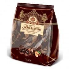 Конфеты шоколадные Бабаевские Трюфельный крем с цельным миндалем 200 гр.