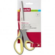 Ножницы Attache 20,5 см. с пластиковыми прорезиненными анатомическими ручками
