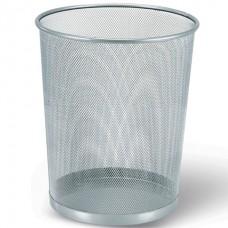 Корзина для бумаг 20 лит. металл/сетка (серая)