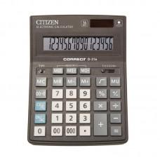 Калькулятор  Citizen Correct D-316/CDB1601BK 16разрядов,155*205мм