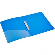 Папка на 2 кольца 32мм Attache (диаметр кольца 25мм) синяя