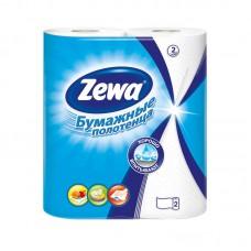Полотенца бумажные Zewa белые 2-слойные (2рул/уп.по 14м)