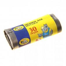 Мешки для мусора 30 л (30 шт/уп.) Мультипласт
