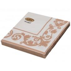 Салфетки бумажные  33*33 2-х слойные,ассорти