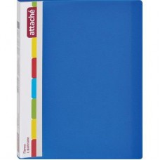 Папка на 20 файлов Attache 0.7 синяя