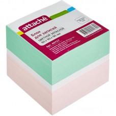 Блок бумаги 9*9*9 см Attache цветной в Екатеринбурге