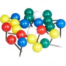 Кнопки силовые цветные,ассорти (11 мм.50 шт/уп)