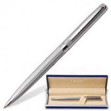 """Ручка шариковая подарочная GALANT """"Freiburg"""" корпус серебристый с гравировкой (0,7мм,синяя)"""