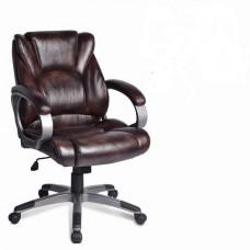 """Кресло BRABIX """"Eldorado EX-504"""", экокожа, коричневое"""