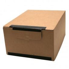 Короб архивный гофрокартон бурый 285х170х379 мм.