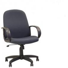 """Кресло """"Практик"""" серое (ткань,платик)"""