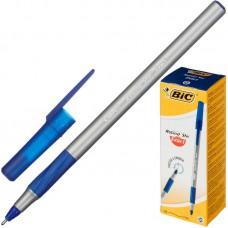 Ручка шариковая масляная BIC Round Stic Exact синяя
