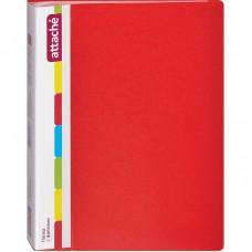Папка на 40 файлов Attache 0.7 красная
