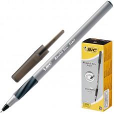Ручка шариковая  масляная BIC Round Stic Exact черная