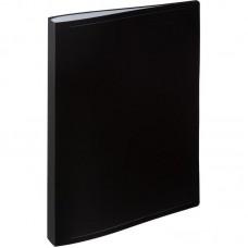 Папка на 40 файлов Attache 0.45 черная