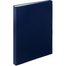 Папка на 40 файлов Attache 0.45 синяя