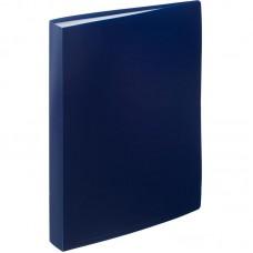 Папка на 30 файлов Attache 0.45 синяя