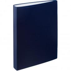 Папка на 100 файлов Attache 0,6мм. синяя