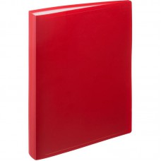 Папка на 100 файлов Attache 1.0 красная