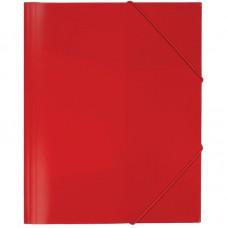 Папка на резинке Attache А4 пластиковая красная (0.35 мм, до 300 листов)