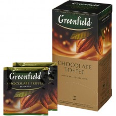 Чай Greenfield Chocolate Toffee черный 25 пак.