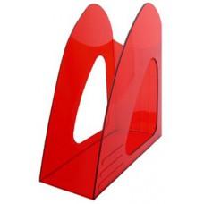 Лоток вертикальный Hatber красный 90мм.