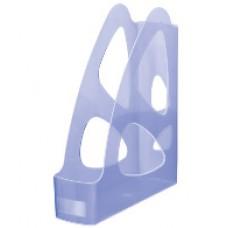 """Лоток вертикальный """"Стамм"""" Парус 8 см. голубой"""