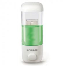 Диспенсер  для жидкого мыла пластик  белый 0,5л. ЛАЙМА