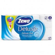 Бумага туалетная Zewa Deluxe 3-сл. (8шт/уп) в Екатеринбурге