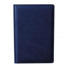 Ежедневник недатированный Attache Сиам А6 176 листов синий (110x155 мм)