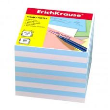 """Блок бумаги 9*9*9 см. """"Erich Krause"""",цветной"""