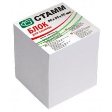 """Блок бумаги 9*9*9 см. """"Стамм"""",белый"""