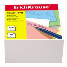 "Блок бумаги 9*9*9 см.""Erich Krause"",белый"