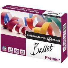 Бумага А3 Ballet Premier (80 г/кв.м, белизна 162% CIE, 500 листов)