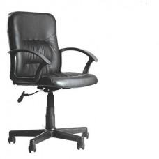 """Кресло  """"Чип""""  черное (кожзам,пластик)"""
