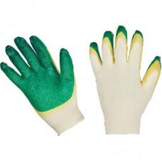 Перчатки трикотажные с двойным латексным покрытием 13 класс